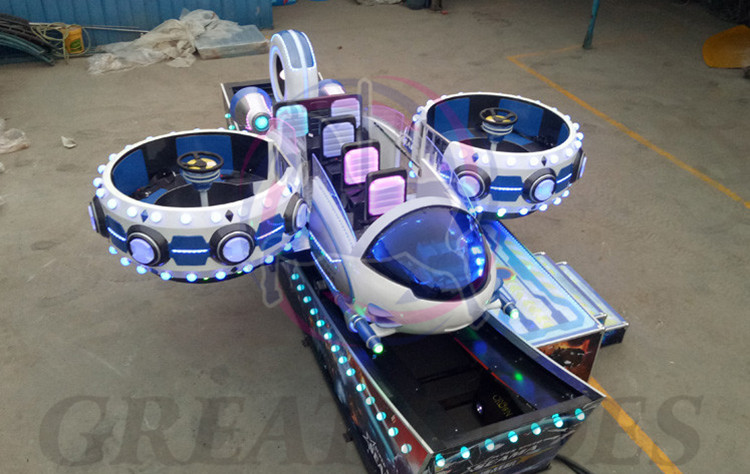 New design funfair rides children game machine plane style mini speed car for sale