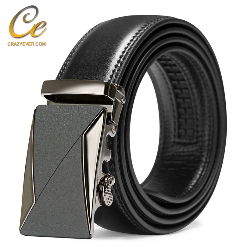 Online <strong>Belts</strong> Luxury Atomatic Ratchet Click Leather <strong>Belt</strong> For Mens