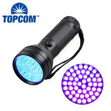 51 UV 395 nM Ultraviolet LED flashlight Blacklight Stain & Urine Detector Spot Scorpions, Pet Urine, Bed Bugs Minerals Leaks