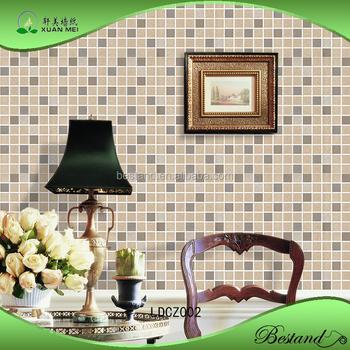 Modell Ldcz002 Xuanmei Imitiert Mosaik-fliesen Tapete Badezimmer Tapete -  Buy Neueste Design Schöne Dekorative Tapete,Imitiert Mosaik-fliesen  Adhesive ...