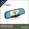 1080p manual car camera hd dvr car gps mirror monitor