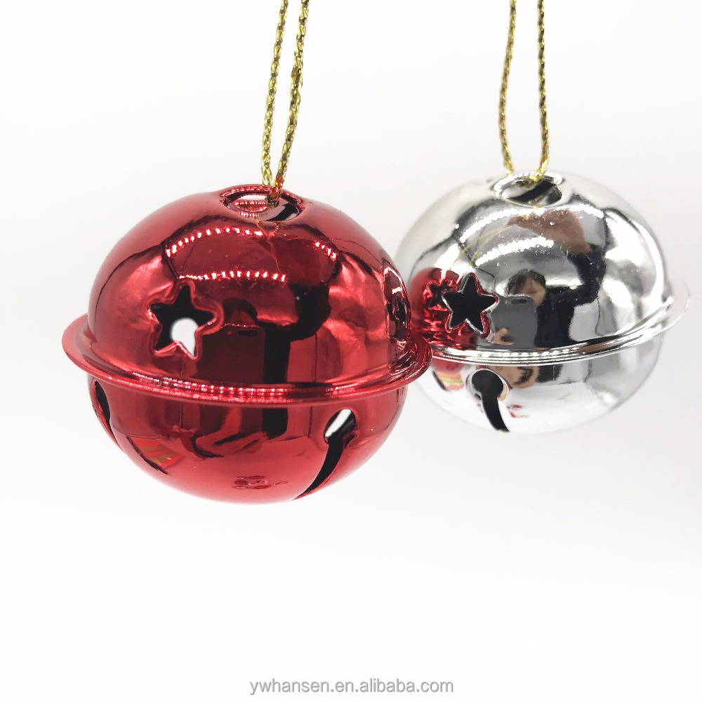 HS-kerstboomversiering Made Fashion/Mini Bel plastic Jingle Bell