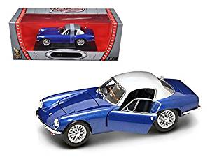 Get Quotations · 1960 Lotus Elite Dark Blue 1/18 Model Car By Road Signature