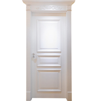 Home soundproof factory sale best price solid wooden door china alibaba fancy design antique