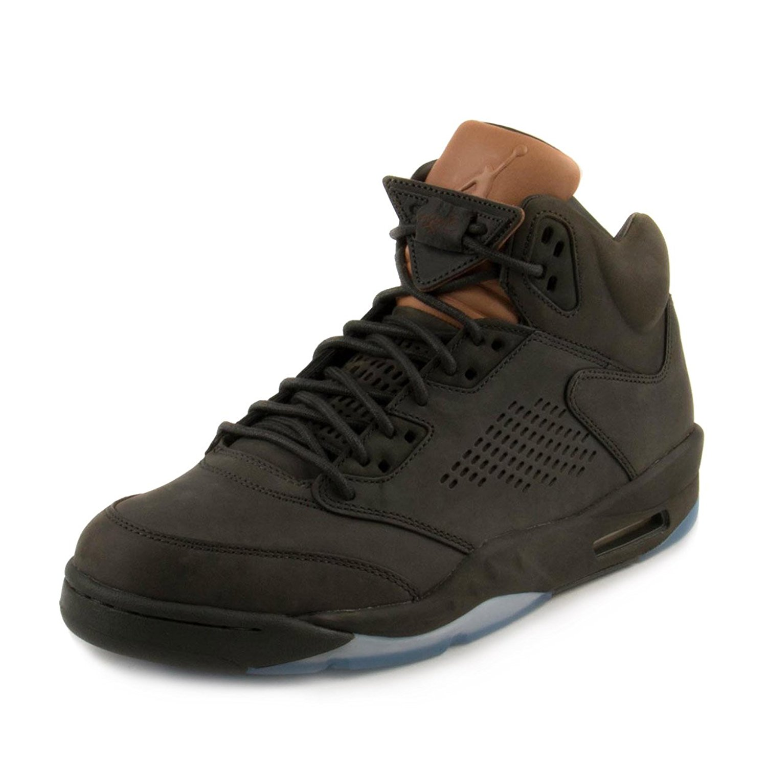3bef9b6148019b Get Quotations · Jordan Men Air Jordan 5 Retro Premium sequoia  sequoia-metallic gold