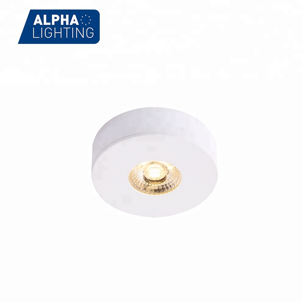 Alibaba cob led mini 3w surface ceiling under cabinet spot lighting from dongguan manufacturer