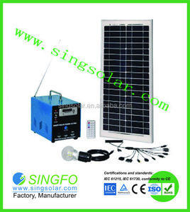 High efficiency solar energy system for Telecom BTS Station Houses Rural Electrication