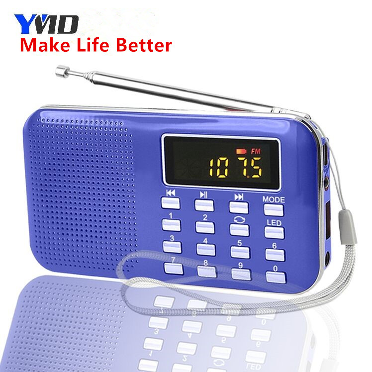 Hot popular promotion L-218 portable digital fm radio