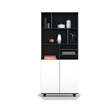 Cheap Price New Wood Design The Bookshelf Executive Storage Office Filing Cabinet with Glass door