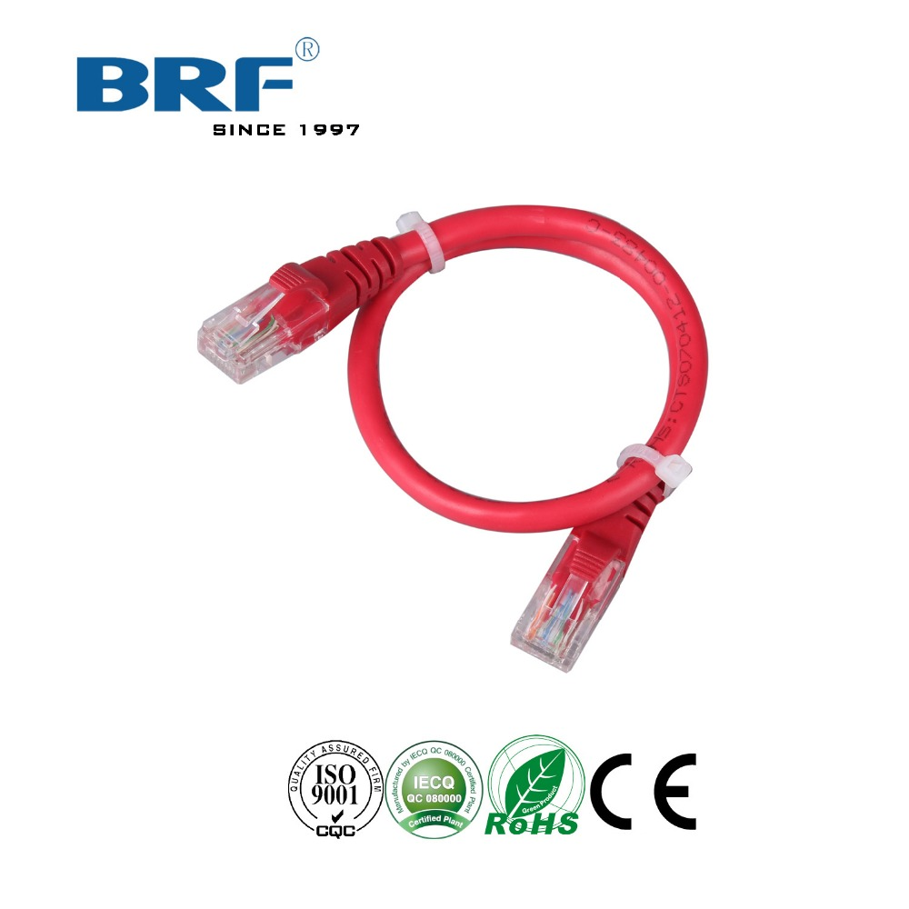 Cheap price high speed RJ45 cat 5e 24AWG network cable ethernet cable