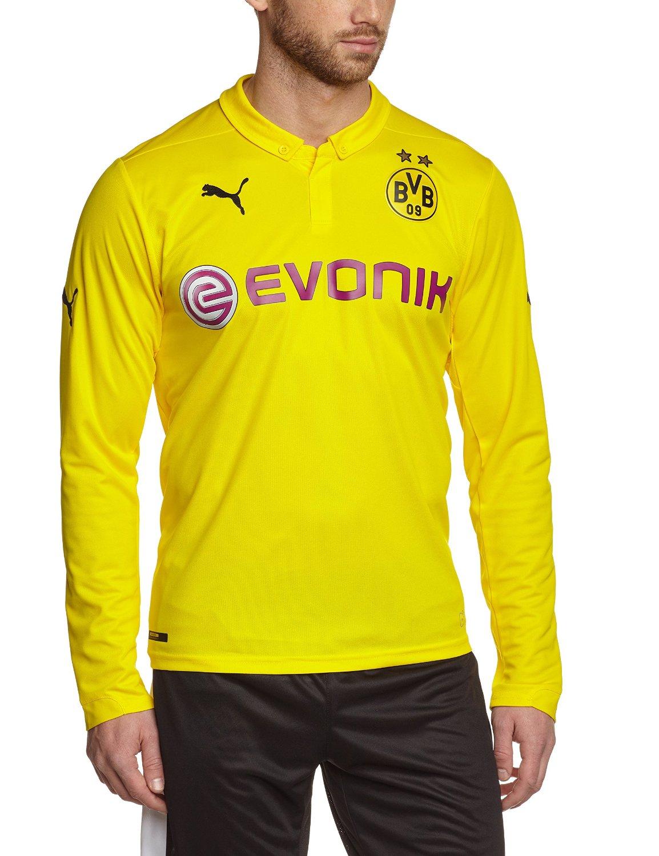 7cc26557cca9 Get Quotations · Borussia Dortmund Long Sleeve Champions League Jersey 2014  - 2015