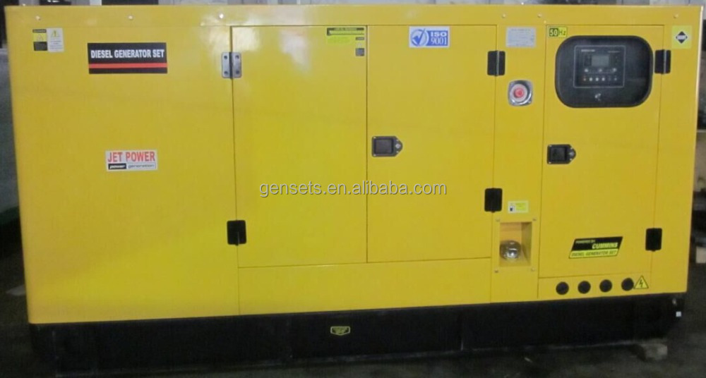 With cummins engine 100kva mobile generator 80kw mobile diesel genset for sale