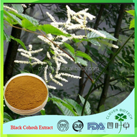 Factory Price Natural Black Cohosh Cimicifuga Racemosa 2.5% Triterpene Glycosides Extract