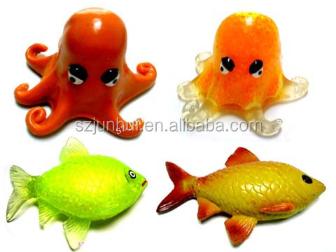 squishy artificial soft plastic toy fish