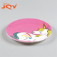 Food safe 100% Melamine Custom Kids dinner plate restaurant wholesale plastic plates