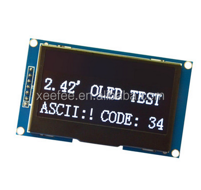 2.42 inch OLED display module, SPI serial interface, 12864 LCD display screen