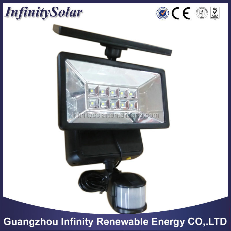Led Solar Pir Motion Sensor Security Flood Mini Solar Led Flood ...