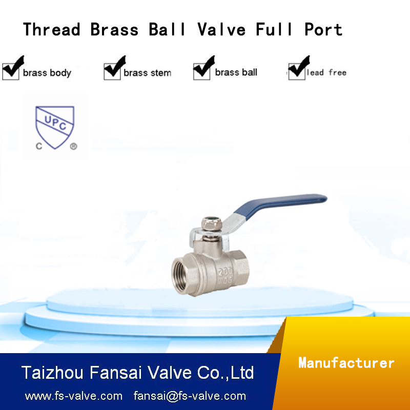 Manufacture brass full welded ball valve sale worldwide