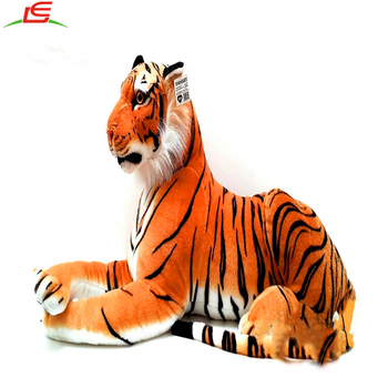 C049 China Manufacturer Lifelike Custom Giant Tiger Plush Buy
