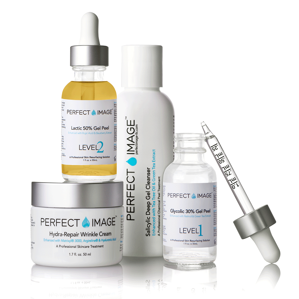 Professional Chemical Face Skin Peels for Acne, Wrinkles, Fine Lines, Hyperpigmentation, Age Spots