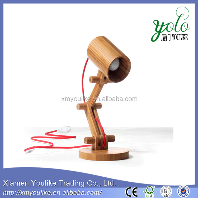 2016 Newest Creative bamboo table lamp