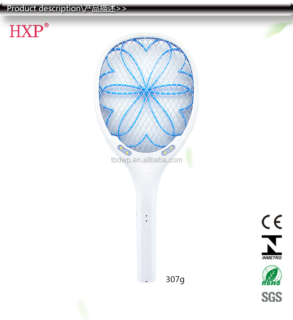 HXP W818 high quality USB rechargeable fly swatter killer