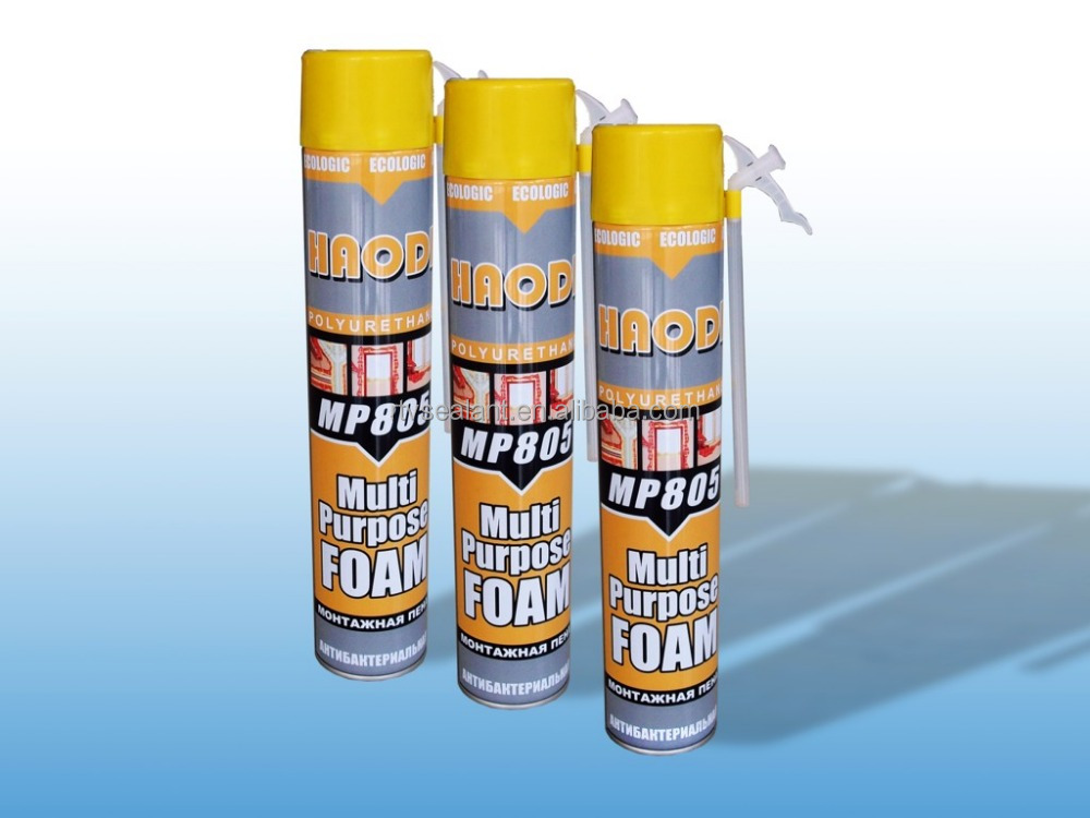 High quality Pu foam sealant polyurethane foam spary for construction joints