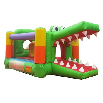 33da7efea38b Crocodile Inflatable Bouncer Combo Slide For Toddlers - Buy ...