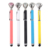 High-end style diamond top metal texture ballpoint pen with bright and full colors