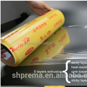 Quality First pvc cling film shanghai for food wrapping