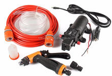 DC 12v high pressure car washer electric portable car washer pump