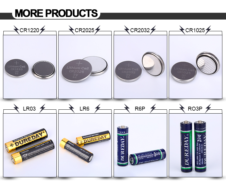 Lithium cr2025 button cell watch battery