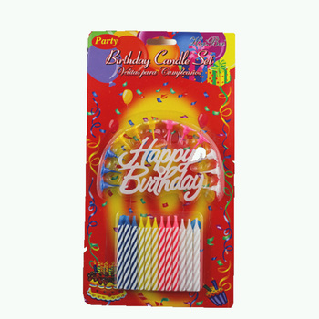 Magic Fireworks Colorful Change Happy Birthday Candle For Parties Decoration Sparkler Candles