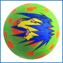 low price promotional gift size 1 2 3 rubber material basketball equipment for children