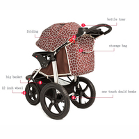 EN1888 2014 hot selling stroller baby strollers with big wheels
