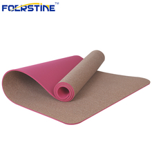 Top Quality Foldable Tpe Cork Yoga Mat