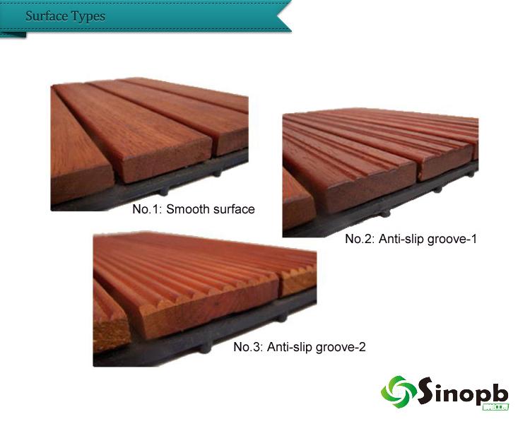 Click Lock Pine Wood Floor Tile Diy Deck Tile Smart Decking