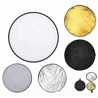 "43"" (110cm) Portable Collapsible Multi-Disc Photography Light Photo Reflector for Studio/Outdoor Light"
