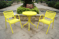 Fun Color Aluminum Table And Chair,Outdoor Cafe Furniture - Buy ...