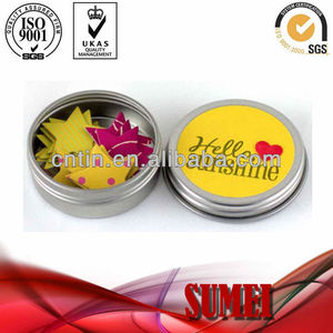 screw cap tin can