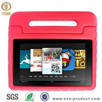 Light Weight EVA Foam Handle Stand Shock Proof Cover for Amazon Fire HD 10 Cover
