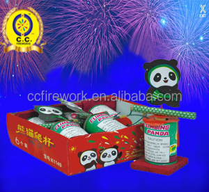 Novelty Climbing Panda wholesale fireworks and firecrackers little