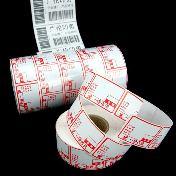 Self Adhesive Sticker Price Marking Label Roll