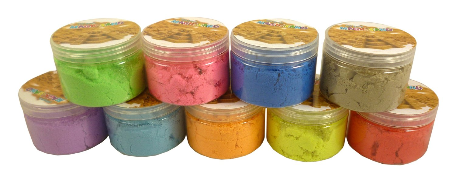 Magic Sand Refill - 250g- Play Sand With No Mess! - Sculpture, Mold And Play!!