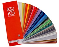 Newest Ral K5 Color Chart/Color Card