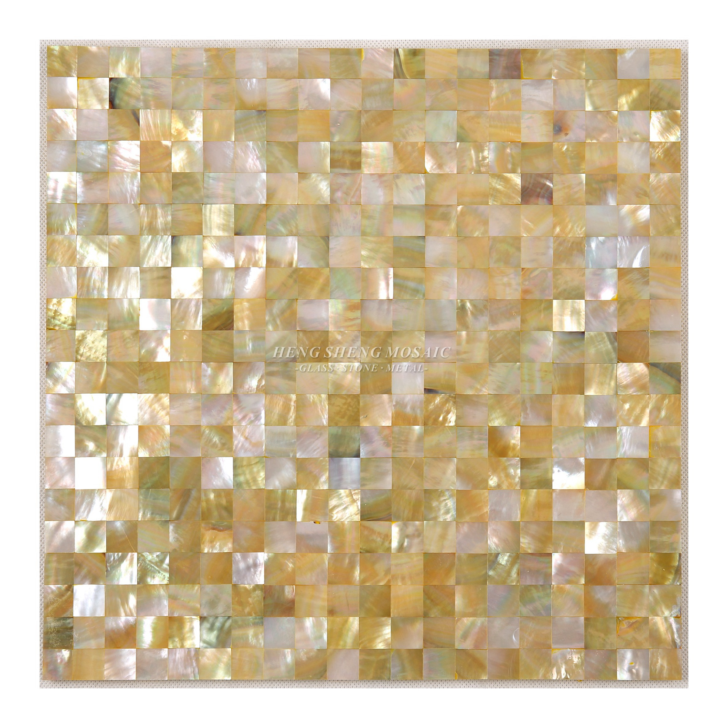 White Mother Of Pearl Sea Shell Mosaic