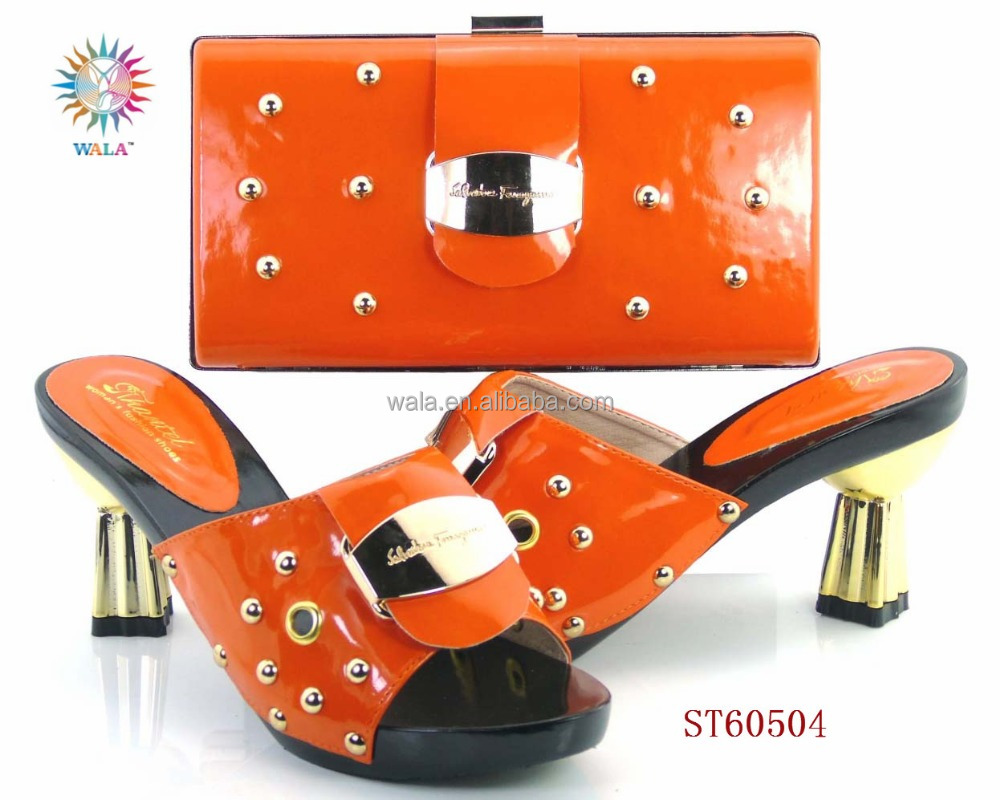 2 black african shoes bags leather and and cluth bag italian shoes matching ST60504 BgOqxn6wO