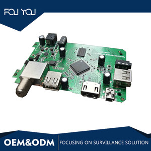 MS-cam supported HDMI DVB S2 USB PCB Assembly for DVB board