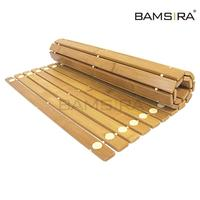 Large Foldable Bamboo Indoor/Outdoor Bath, Shower and Floor Mat /Bamsira_Factory