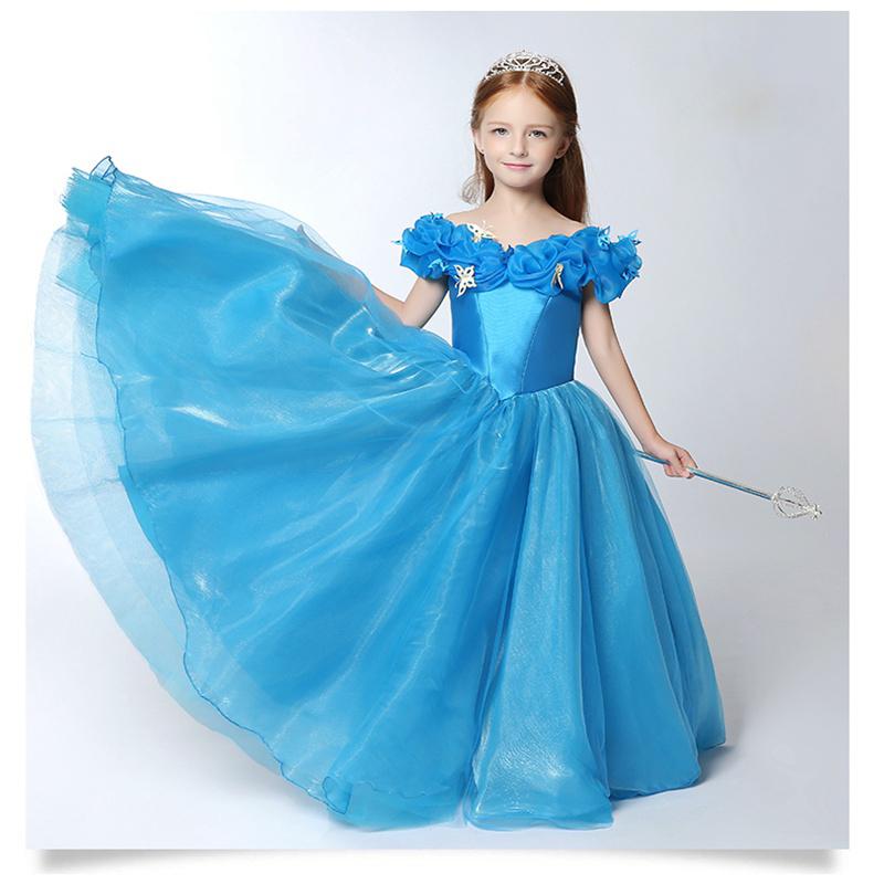 cinderella dress for kids - photo #5